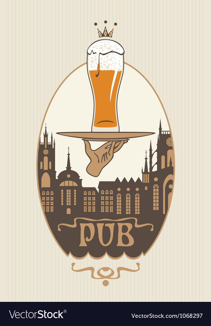 Pub vector | Price: 1 Credit (USD $1)