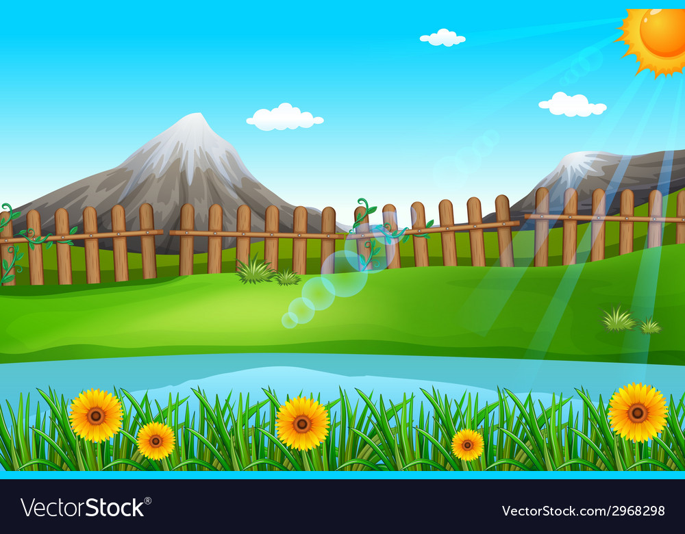 A beautiful environment vector | Price: 1 Credit (USD $1)