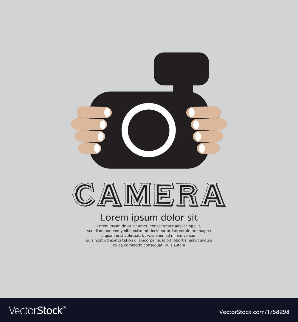 Camera eps10 vector | Price: 1 Credit (USD $1)