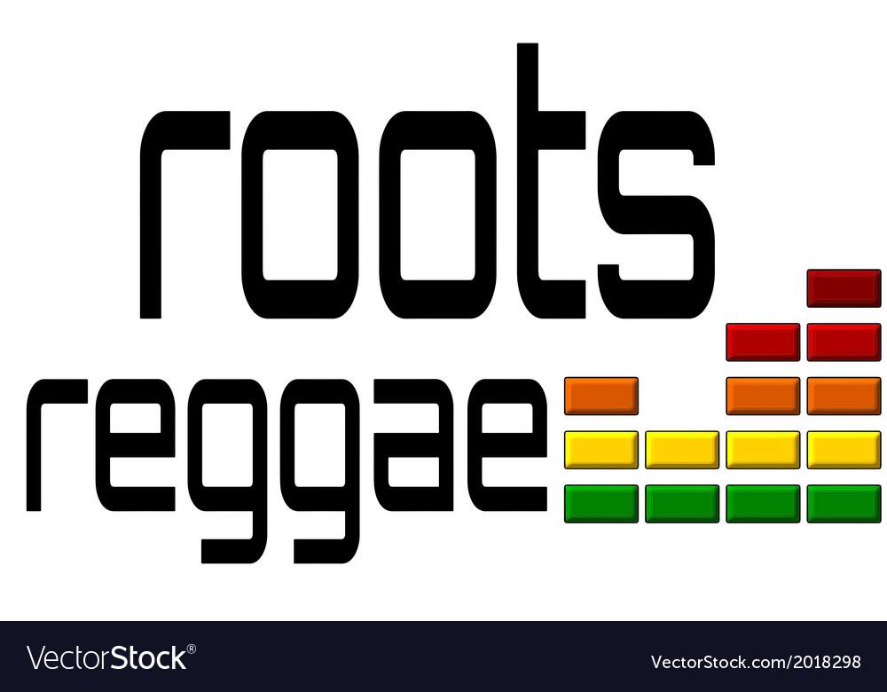 Roots reggae dj equalizer - music volume alpha vector | Price: 1 Credit (USD $1)