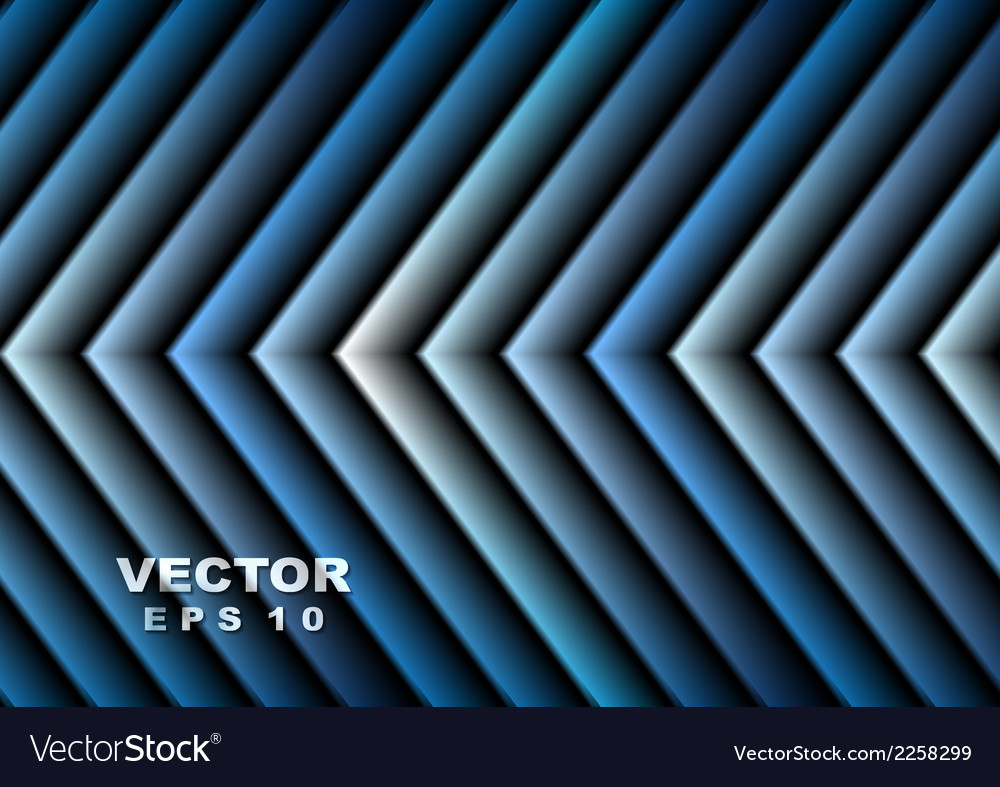 Bright blue hi-tech arrows design vector | Price: 1 Credit (USD $1)
