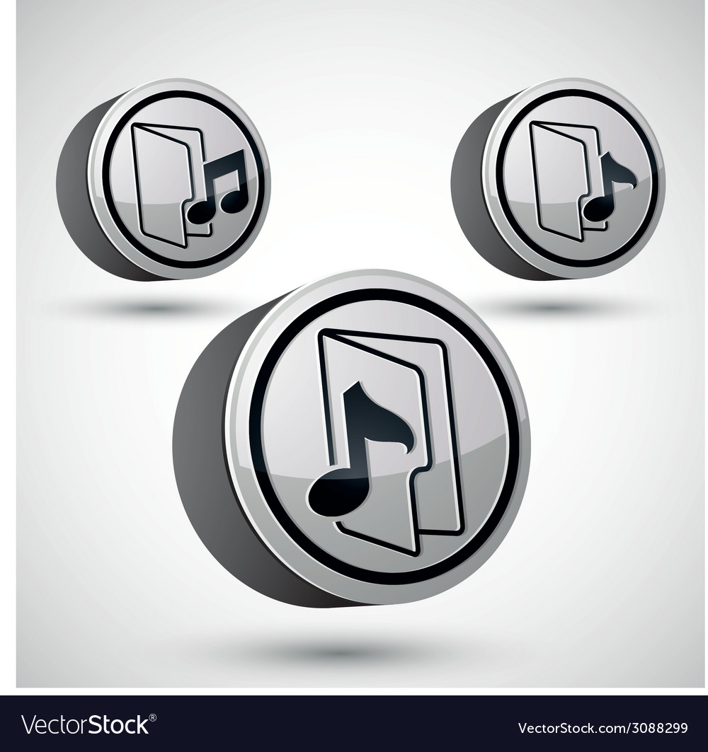 Microphone icon isolated 3d music theme design vector | Price: 1 Credit (USD $1)