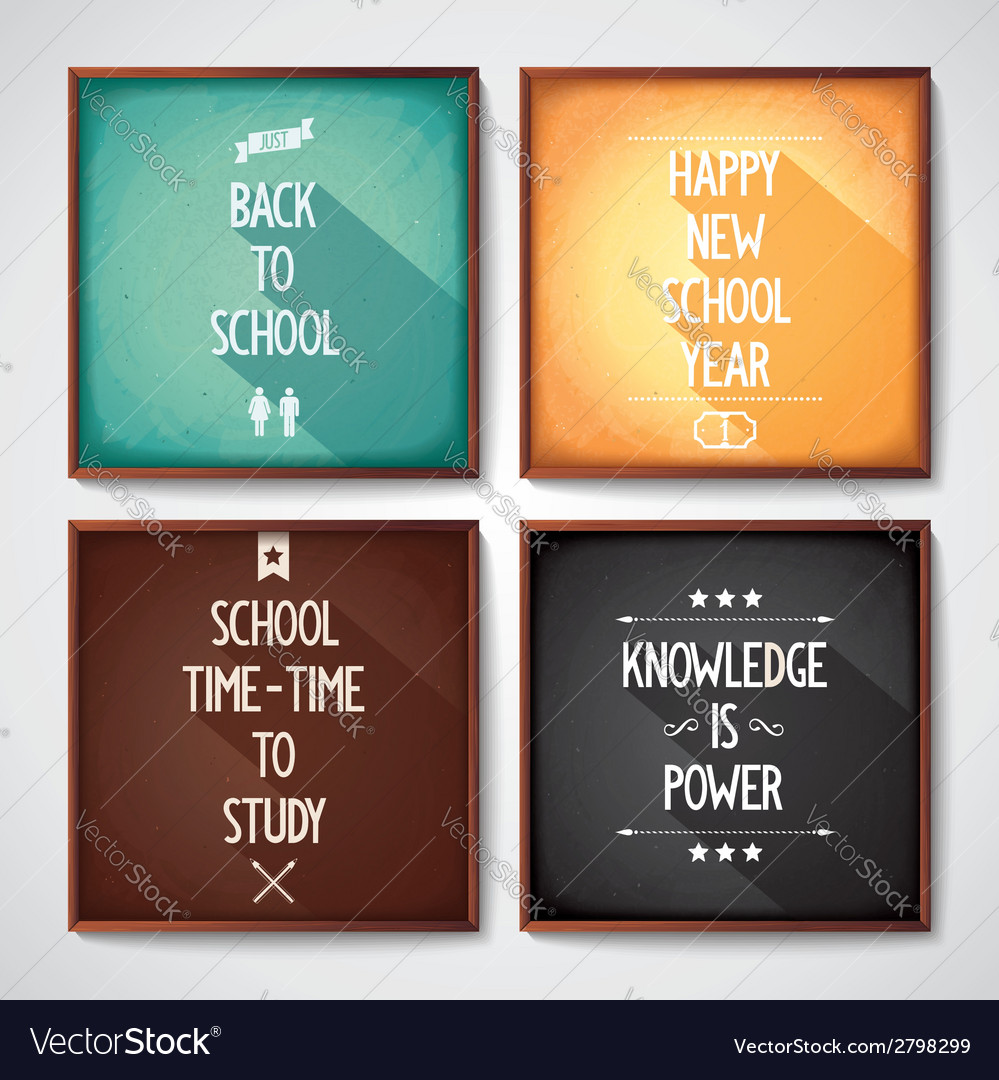 School - conceptual design lettering vector | Price: 1 Credit (USD $1)
