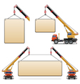 Construction machines set 6 vector