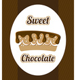 Chocolate design vector