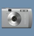 Realistic digital camera vector