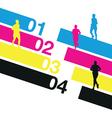 Runners numbers vector