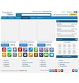 Online shop elements set4 vector