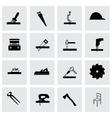 Carpentry icon set vector