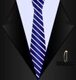 Background black suit vector