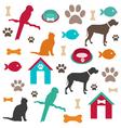 Pet background vector