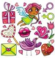 Valentines day icons 1 vector