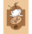 Chocolate coffee vector