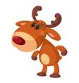 Funny deer vector