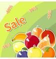 Fruit sale vector