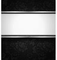 Background black ornamental fabric texture vector