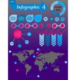 Infographics elements set for business - vector