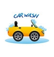 Car wash design vector