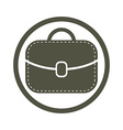 Bag icon woman purse vector