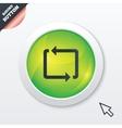 Repeat icon loop symbol refresh sign vector