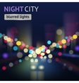 City blur background vector
