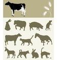 Animal of a farm vector