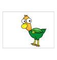Duck cartoon vector