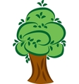 Big green tree vector