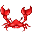 Crab cartoon for you design vector
