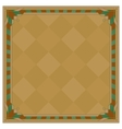 Abstract background frame brown vector