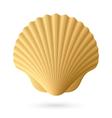 Scallop seashell vector