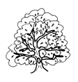 Hollow tree vector