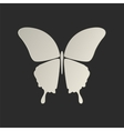 Butterfly conceptual icon vector