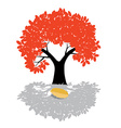 Tree - nature symbol isolated on white backg vector