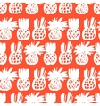 Pattern with pineapples vector