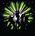 Party and disco people photo tree vector