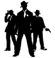 Gangster mafia vector