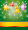 Celebration light background with ribbon christmas vector