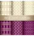 Set of seamless pattern 5 vector