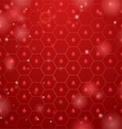 Red hive background vector