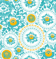 Vintage shabby chic seamless ornament pattern with vector