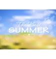 Summer holidays poster vector