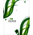 Colorful floral design templates vector