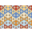 Seamless mosaic background indian style vector