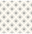 Seamless animal pattern of paw footprint and dot vector