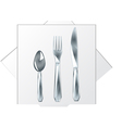 Spoon fork knife vector