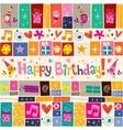 Happy birthday 13 vector