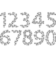 Footprints 123 vector