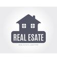 Abstract estate logo template for branding vector