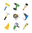 Building tool icon set vector